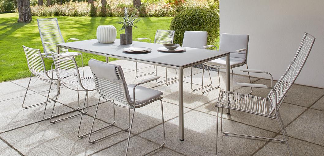 garpa outdoor möbel | Lutz Schmidt Objekteinrichtungen Nürtingen