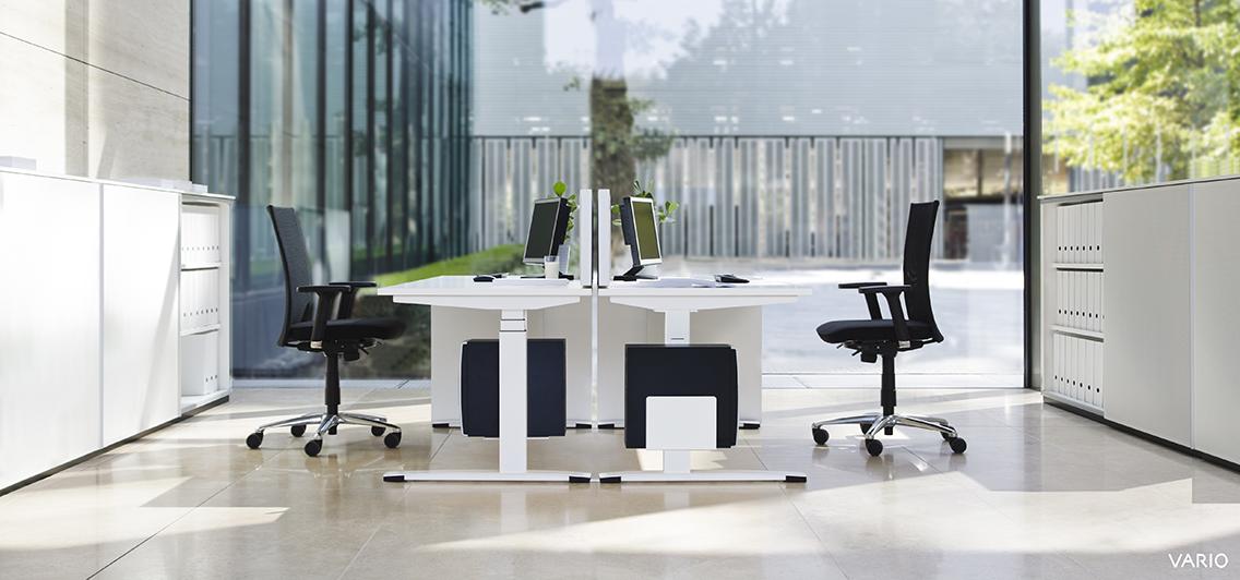 VArio Arbeitsplatz Möbel | Lutz Schmidt Objekteinrichtungen Nürtingen